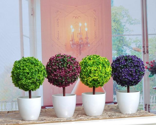 Цветы в горшках декоративные