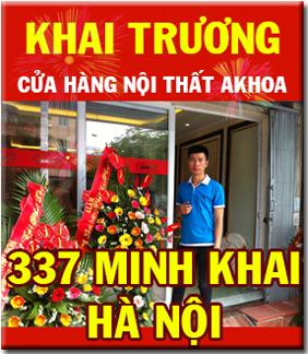 KHAI TRƯƠNG cửa hàng nội thất AKhoa