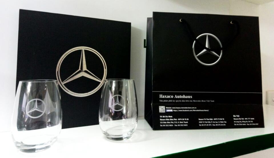Haxaco Mercedes-Benz 46 Lang Ha, MercedesBecoc thuy tinh cao cap, qua tang, cong ty qua tang, coc thuy tinh qua tang cao cap, qua tang hoi nghi, qua tang khach hang