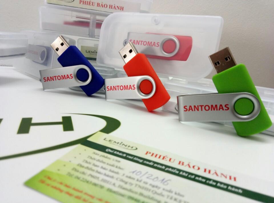 Usb Santomas - quà tặng leminh