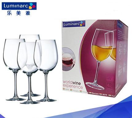 Bộ 4 ly rượu thủy tinh World Wine Luminarc