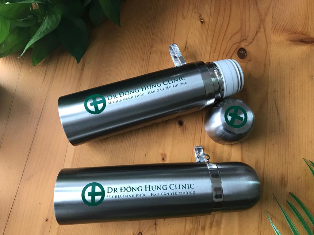 dong hung clinic qua tang gift binh giu nhiet