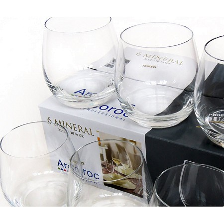Bộ 6 cốc thủy tinh cao cấp Luminarc Acroroc 32cl