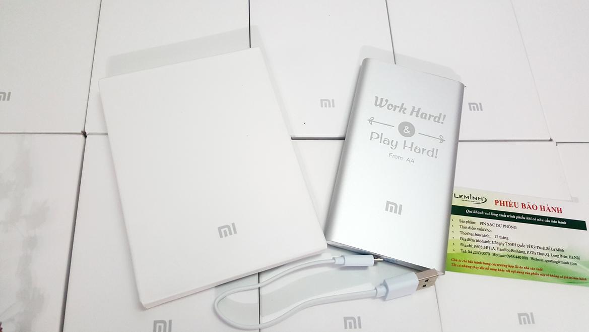 pin sac du phong Xiaomi 5000mah