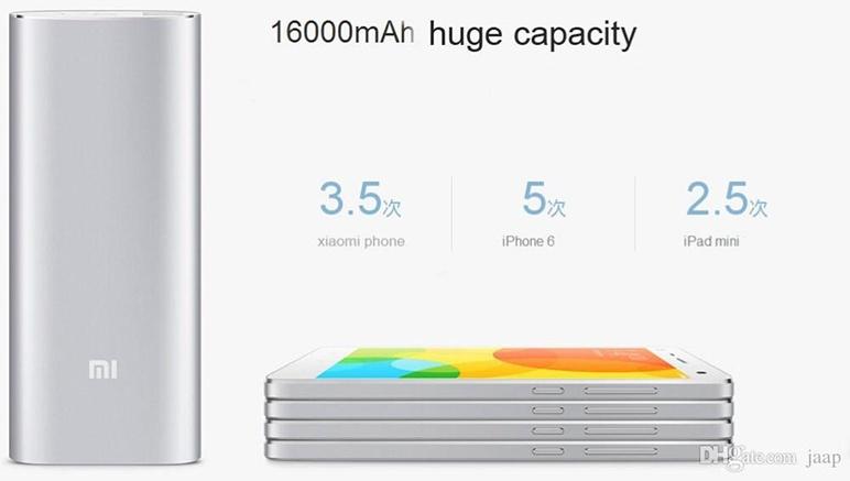 pin sac Xiaomi 16000mAH
