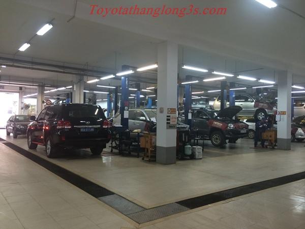 Xưởng bảo dưỡng, sửa chữa xe Toyota Thăng Long