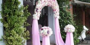 Cổng hoa - Cổng bóng