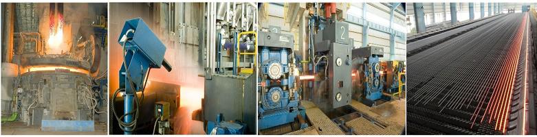 dây chuyền sản xuất thép
