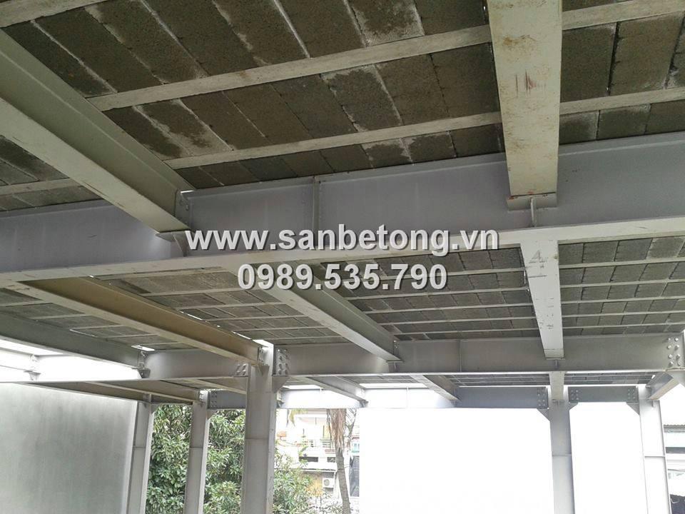 sàn bê tông nhẹ đáp ứng yêu cầu khắt khe trong xây dựng