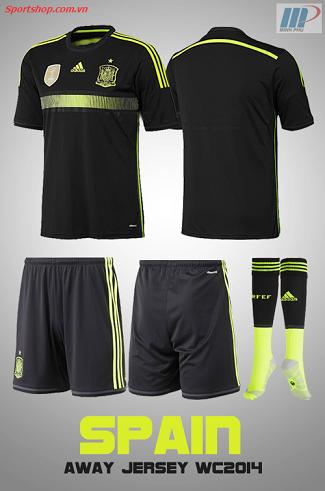 Quần áo bóng đá đội tuyển Tây Ban Nha