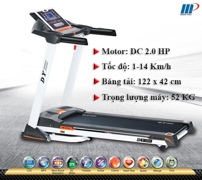 Máy chạy bộ điện DL-012