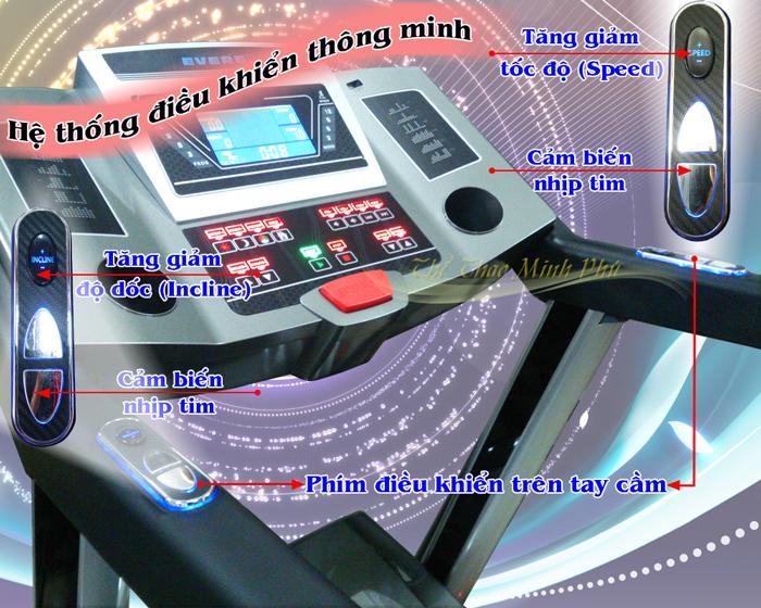 Máy chạy bộ điện phòng tập JTT-2601A