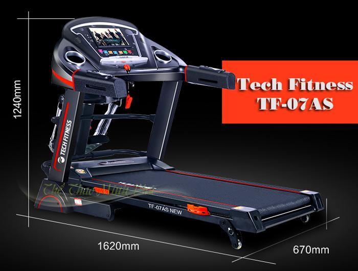 Máy chạy bộ điện Tech Fitness TF-07AS New