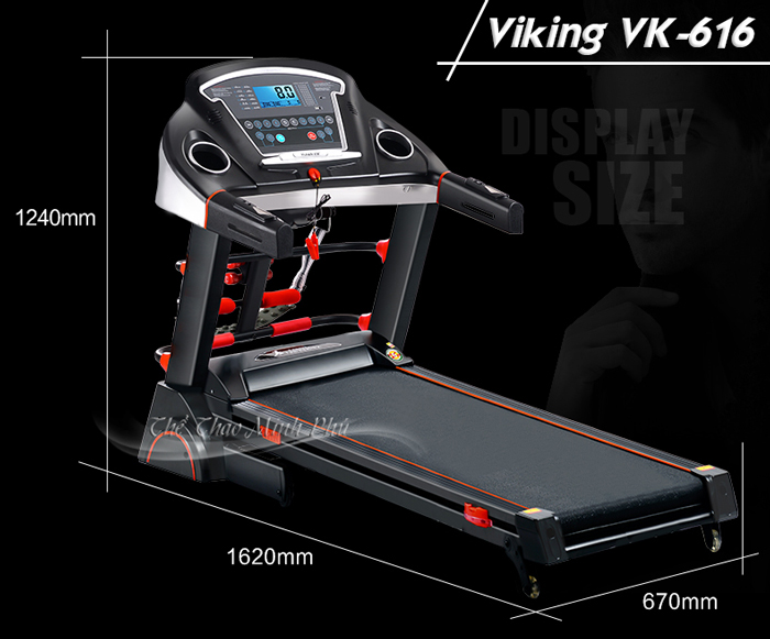 Máy chạy bộ điện Viking VK-616