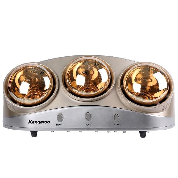 Đèn sưởi phòng tắm 3 bóng Kangaroo KG250