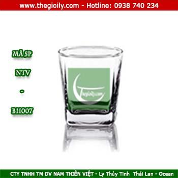 Nhận in logo  ly thủy tinh giá rẻ tại tphcm
