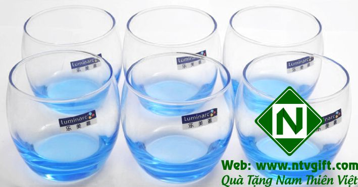 bộ cốc thủy tinh cao cấp luminarc