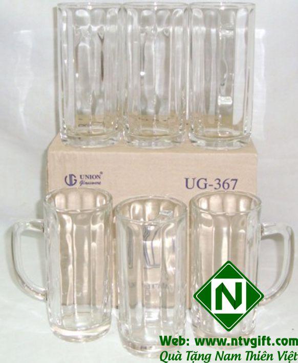 bộ cốc thủy tinh cao cấp union 01