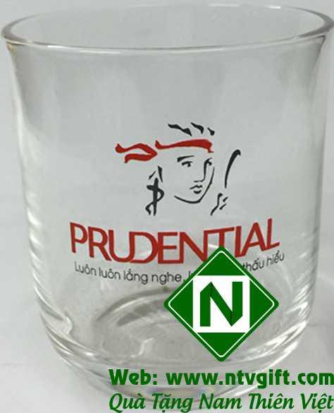 In cốc thủy tinh giá rẻ Prudental
