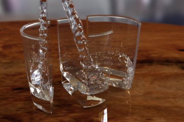 Cách để ly thủy tinh không bể khi rót nước sôi 3