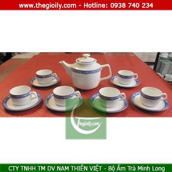 Bộ ấm trà minh long 0.7l cao cấp Jasmine