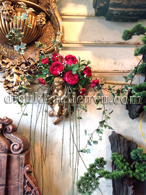 treo hoa bé thiên thần