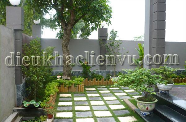 không gian vườn đẹp