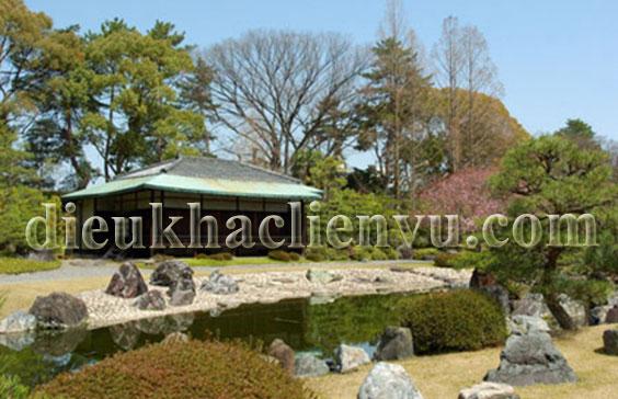Tiểu cảnh vườn Nhật
