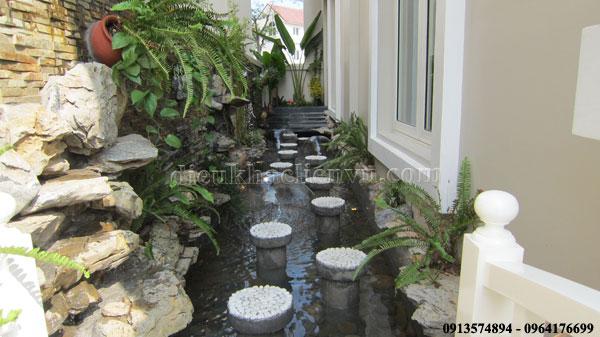 sân vườn Vincom Village