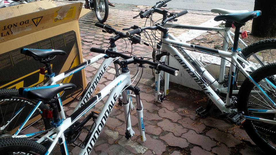 Mua ban xe đạp  nhập khẩu, leo núi với giá rẻ