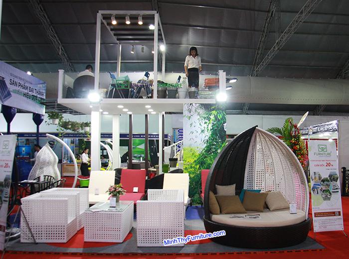 Minh Thy Furniture tham gia triển lãm quốc tế VietBuild tháng 6 năm 2017 tại SECC