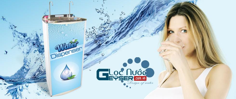máy lọc nước nano geyser 2 vòi nóng lạnh