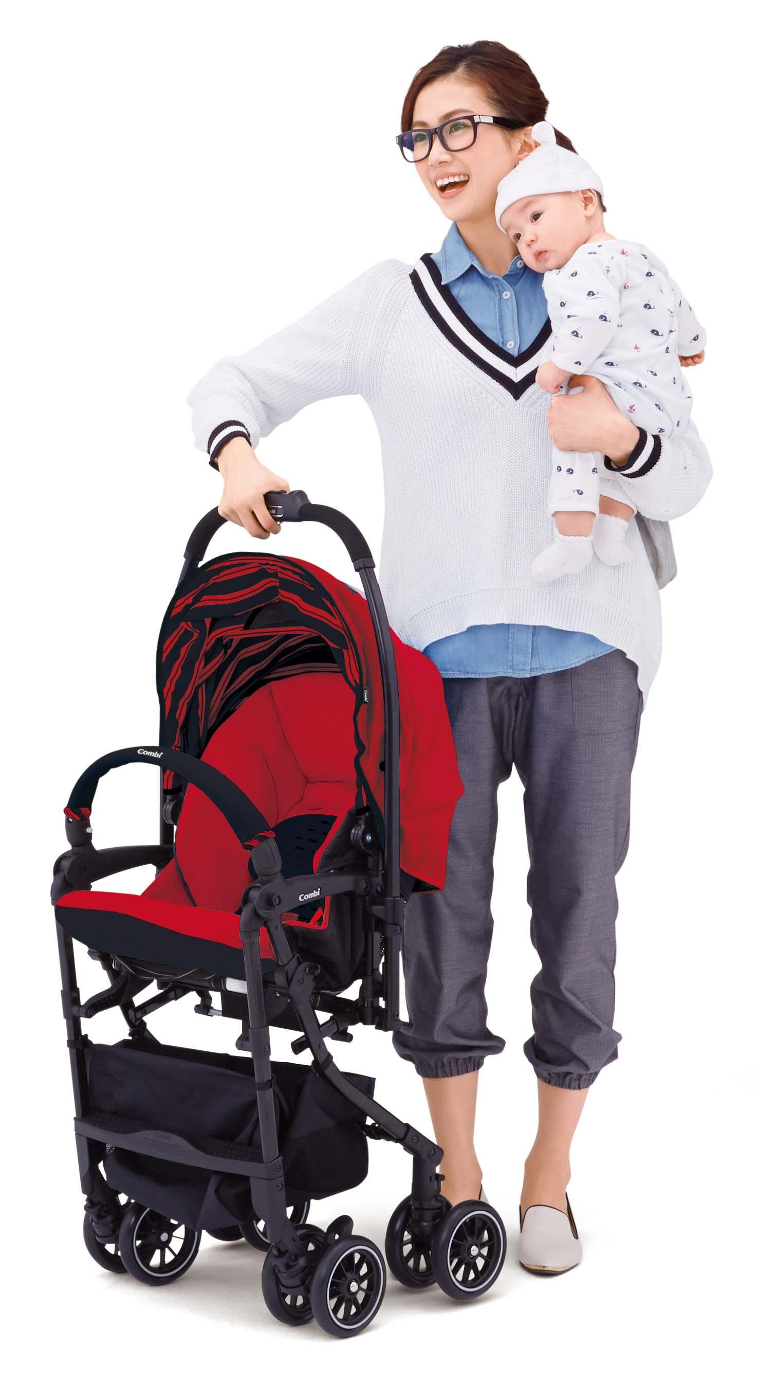 Xe đẩy trẻ em Combi Urban Walker Lite