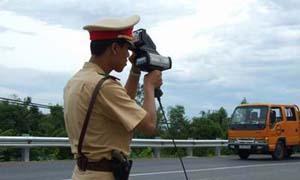 Camera bắn tốc độ công nghệ mới khiến tài xế run sợ
