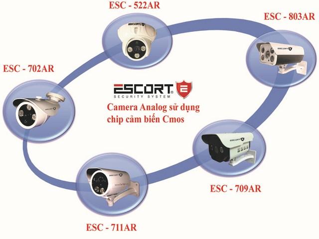 Giới thiệu tính năng nổi bật của sản phẩm camera sử dụng chip cmos thế hệ mới escort