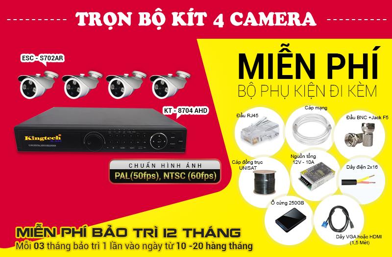 Lắp đặt camera IP, Analog, AHD tại thành phố Hồ Chí Minh