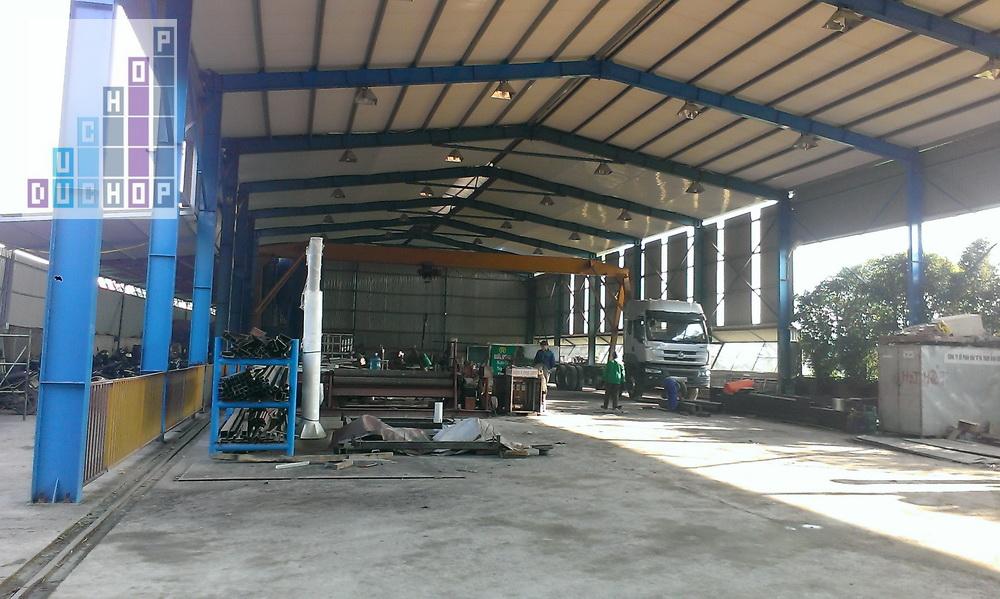 Nhà xưởng công ty cơ khí bách khoa