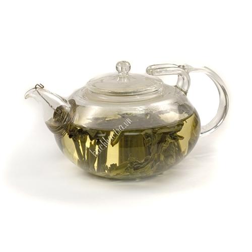 ấm trà thủy tinh lõi lọc lò xo
