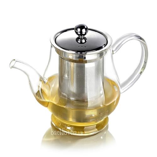 ấm trà lõi lọc inox