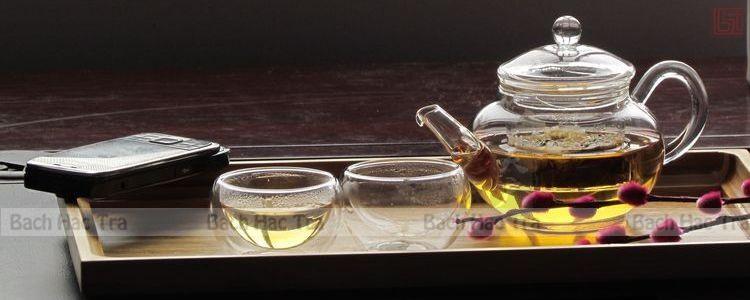 ấm trà thuỷ tinh loại nhỏ