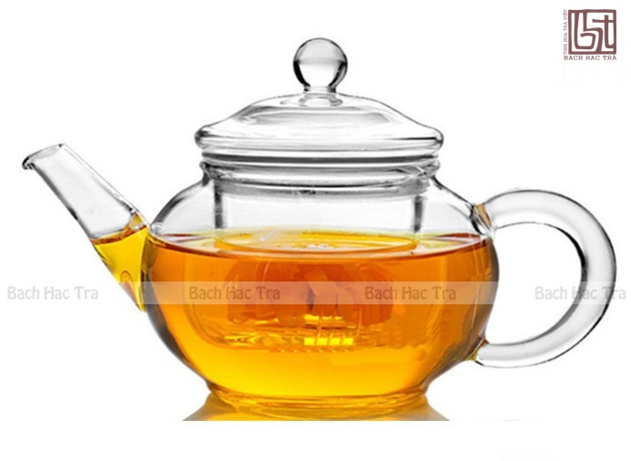 bộ thưởng trà thuỷ tinh