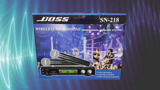 bộ micro không dây BOSS SN218