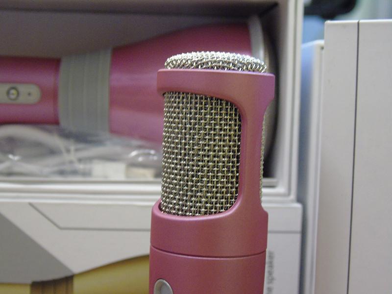 micro kèm loa hát karaoke cực hay 3 in 1 MK068