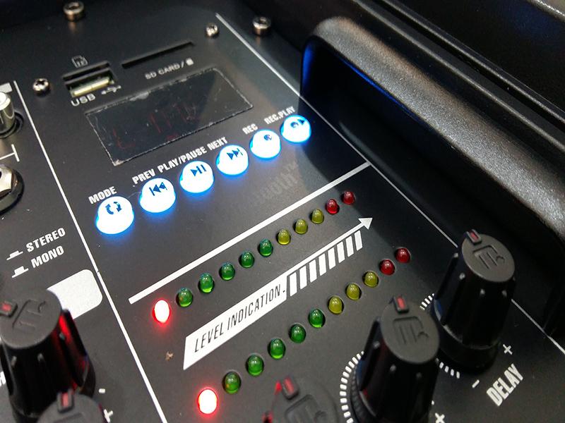 Loa di động dùng điện Malata M+9502