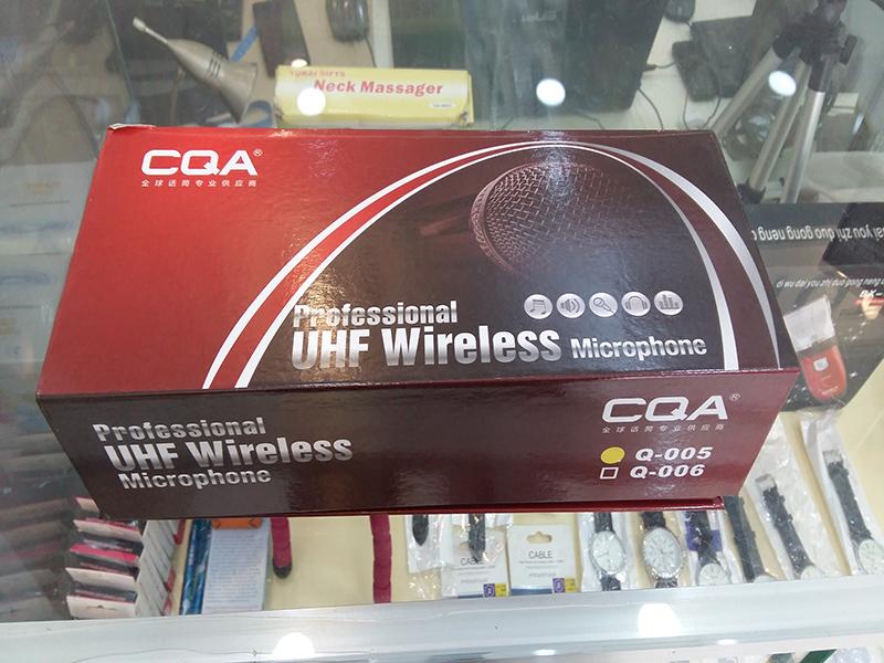 Bộ micro không dây CQA Q-005
