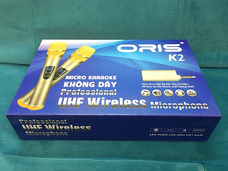 Bộ micro không dây Oris K2