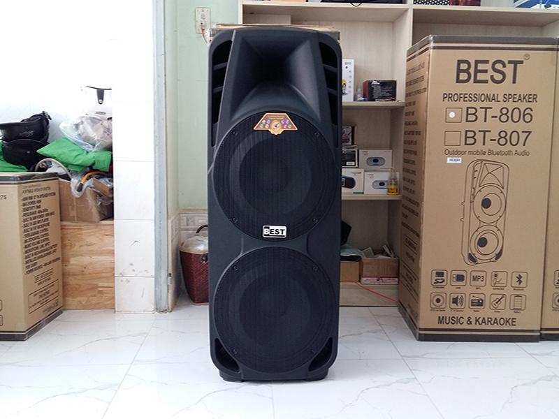 Loa kéo di động 2 bass Best BT-806