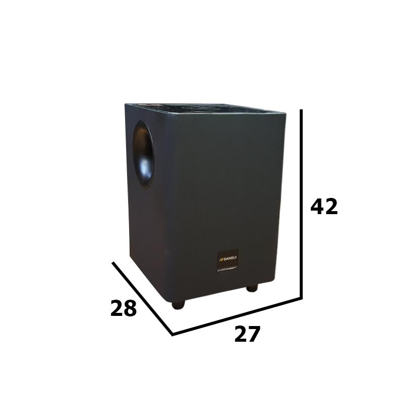 Loa di động dùng điện Sansui Q3