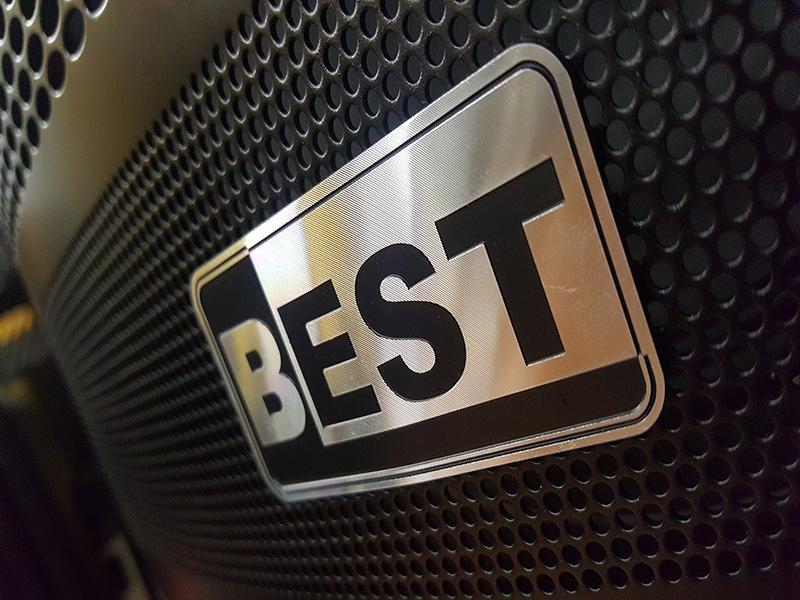 Loa kéo di động 2 bass công suất lớn Best 8900