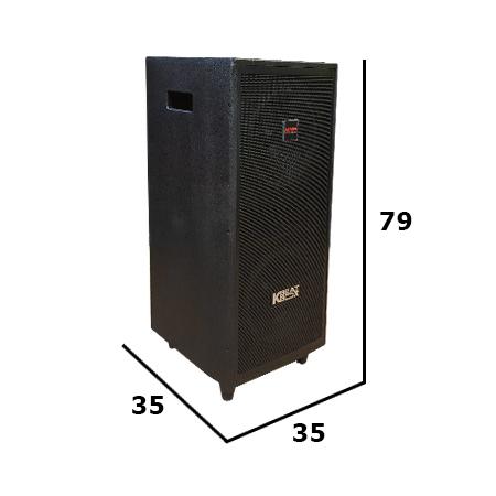 Loa điện di động Acnos BeatBox CD2523